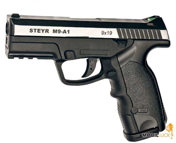 ASG Steyr M9-A1 вставка никель (16553) MobilLuck.com.ua 1379.000