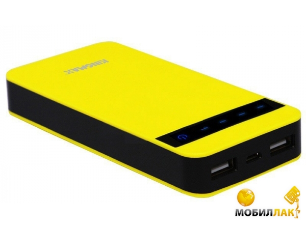 Kingmax PowerBank 10000mA/h Yellow (KMKEBG-005Y) MobilLuck.com.ua 444.000