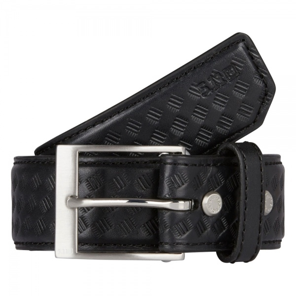 5.11 5.11 Basketweave leather belt 1.5 р.S Black (19223)