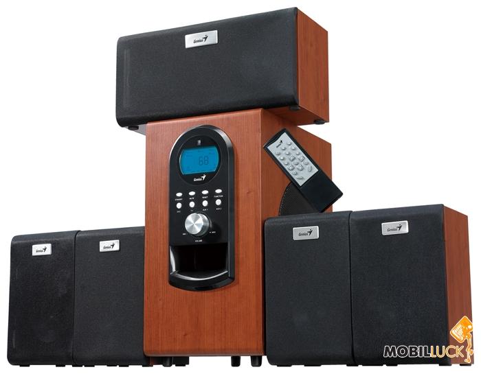 Genius SW-HF 5.1 6000 Wood (31730022101) MobilLuck.com.ua 2429.000