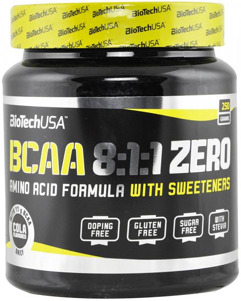 biotech BioTech BCAA 8:1:1 250 g Кола