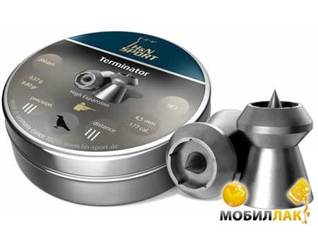 Haendler&Natermann Terminator 200 шт/уп, 0,47 г 4,5 мм MobilLuck.com.ua 93.000