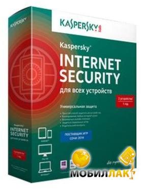 Kaspersky Internet Security 2015 Multi-Device 1год 3 ПК BOX (KL1941OBCFS) MobilLuck.com.ua 565.000