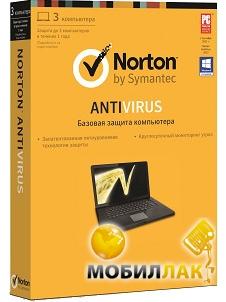 Symantec Antivirus Ru 1 User 3 Lic Ret Box (21247672) MobilLuck.com.ua 369.000