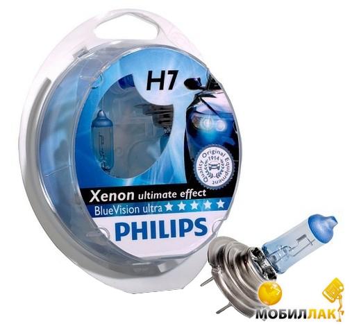Philips Blue Vision Ultra H7+W5W MobilLuck.com.ua 362.000
