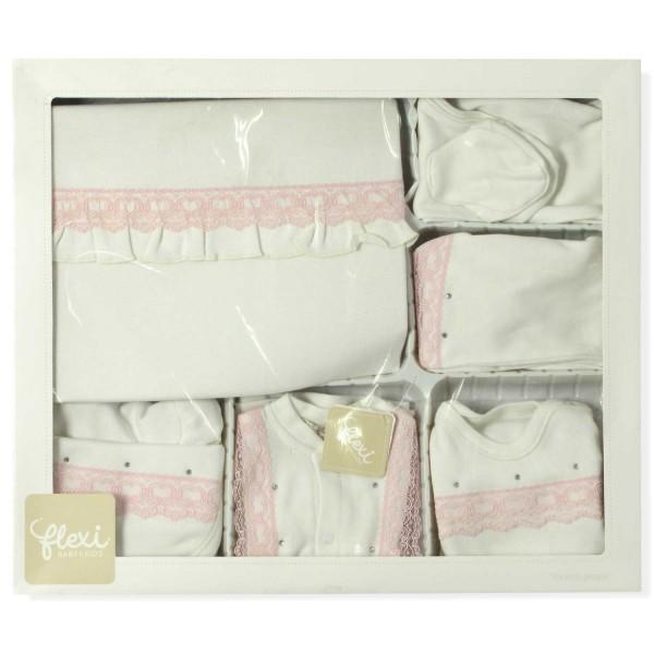 Фотография Комплект для новорожденной девочки Flexi Baby 10 в 1 0-1 мес (51  ... aedf49e2e02a9