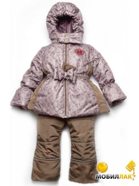 Модный карапуз - Зимний детский костюм Цветочки 03-00541-1. Lenne - Ветровка для мальчика SPARK Размер 92 Цвет 390
