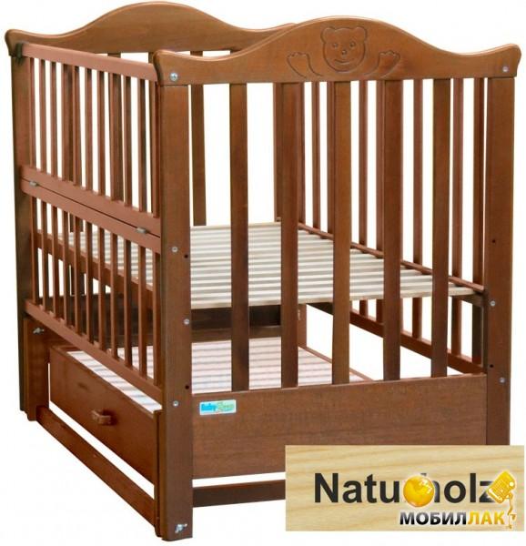 Baby Sleep Детская кровать Elena BKP-S-B Naturholz Натуральный MobilLuck.com.ua 1747.000