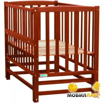 Baby Sleep Детская кровать Milena BKP-S-0 Mahagoni Вишня MobilLuck.com.ua 931.000