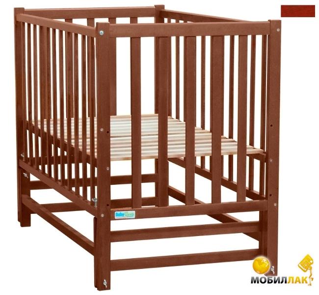 Baby Sleep Детская кровать Sabina BKP-0-0 Mahagoni Вишна MobilLuck.com.ua 761.000