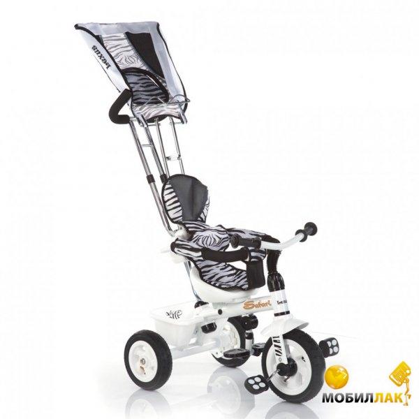 Azimut Детский трехколесный велосипед Trike Safari Зебра (94988) Azimut