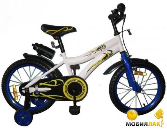 Miracolo Детский велосипед 16K128 WHITE with Blue (8 328) MobilLuck.com.ua 1073.000