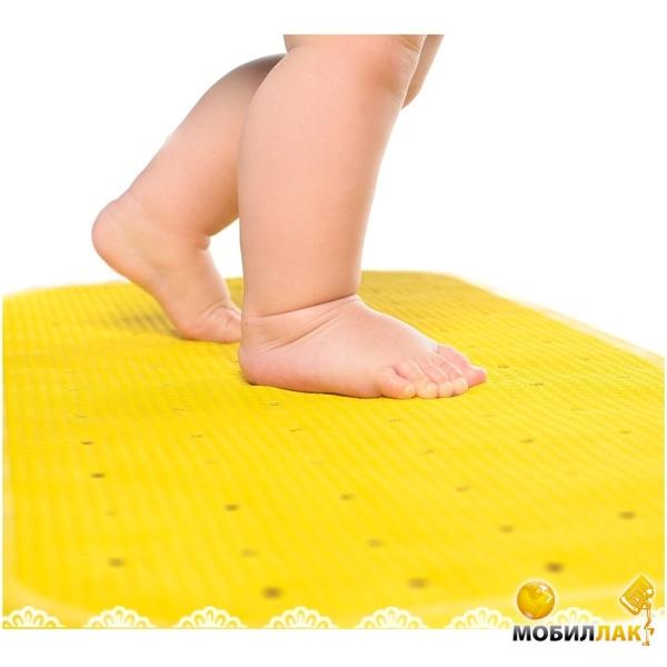 KinderenOk Антискользящие мини-коврики для ванной XL (345х760) Желтый 071113-yellow MobilLuck.com.ua 162.000