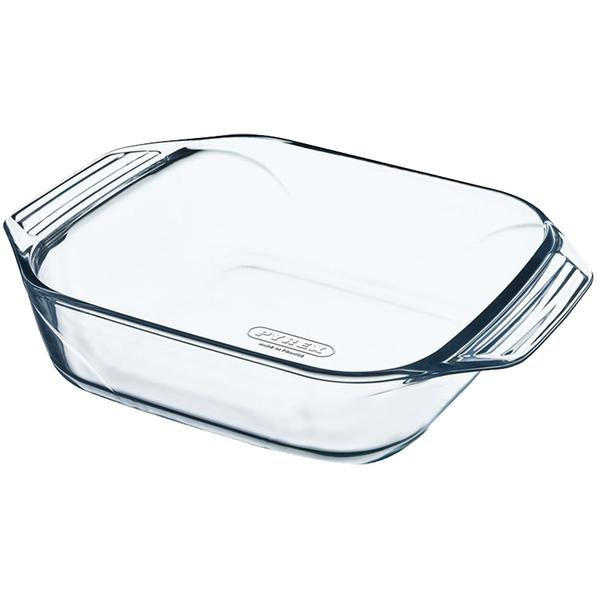 Pyrex Irresistible Квадратная 29х23х7 см 2.3 л стекло (400B000) Pyrex