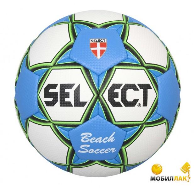 Фотография Мяч для пляжного футбола Select Beach Soccer (815812-929) бел син aee3e36a8b5