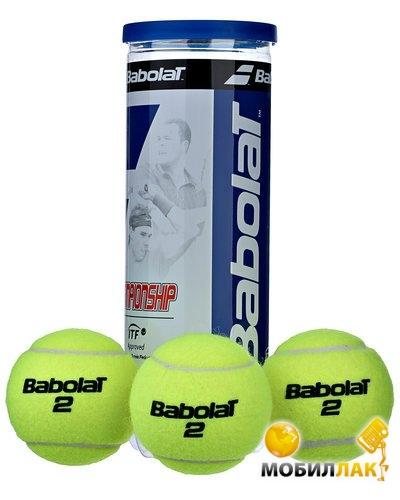 babolat Babolat Мячи теннисные Championship x 3 12488