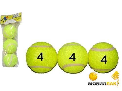 sprinter Sprinter Мяч для большого тенниса 3 шт (22013)