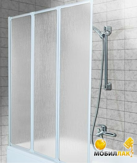 aquaform Aquaform 1390x1210 Standart (170-04010) белый/стекло сатин