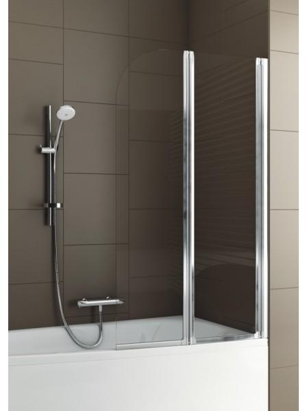 aquaform Aquaform Modern 2 Прозрачная Хром/Мат 810х1400 (170-06963P)