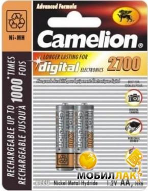 CAMELION AA 2700 mAh 2шт./блистер MobilLuck.com.ua 78.000