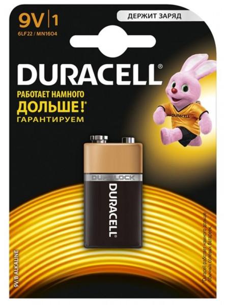 Батарейка Duracell Basic 6LR61/MN1604 BL 1шт