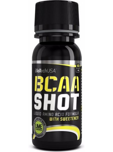 biotech BioTech BCAA 3000 Zero carb shot 60мл 1/20 лайм