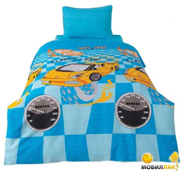 Classi Stansie Sporcar 160x215 голубое (1001447) MobilLuck.com.ua 443.000