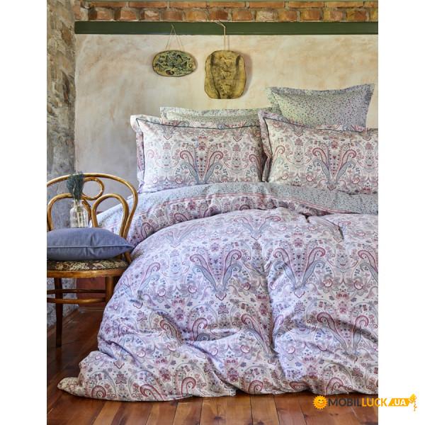 Комплект постельного белья Karaca Home Ранфорс Luminda Pembe 200x220 (8680214168332)