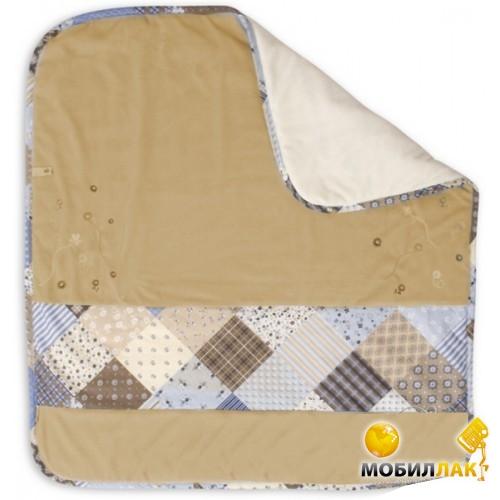 BabyMatex Многофункциональное детское покрывало Мозаика Blue-беж (0101-B-16) MobilLuck.com.ua 412.000
