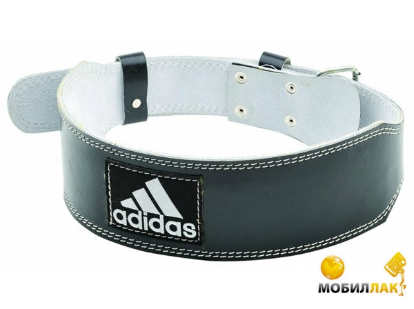 adidas Adidas ADGB12234 Leather Weightlift Belt S/M