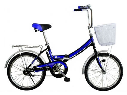 Велосипед Titan Десна 20 колесо Black/Blue