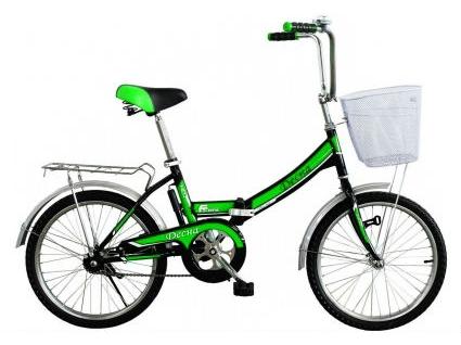 Велосипед Titan Десна 20 колесо Black/Green