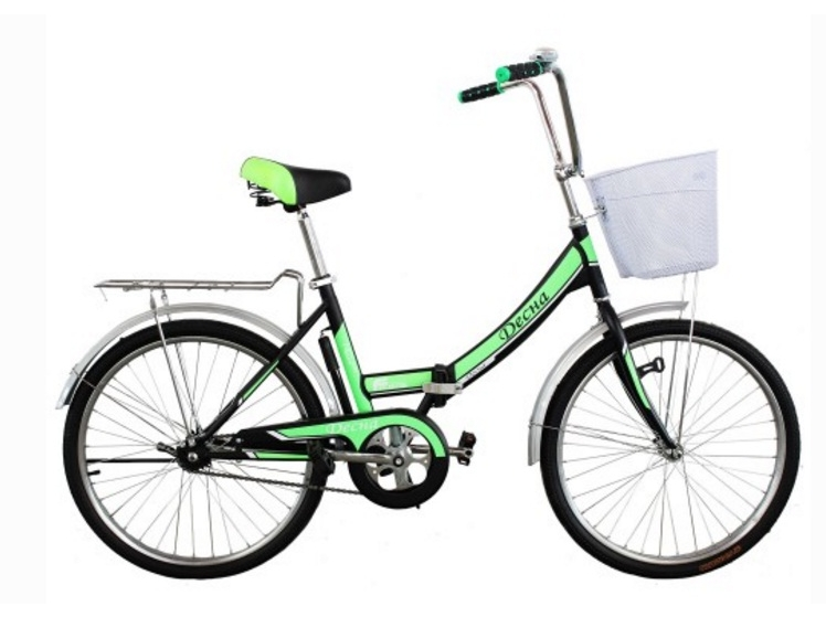 Велосипед Titan Десна 24 колесо Black/Green