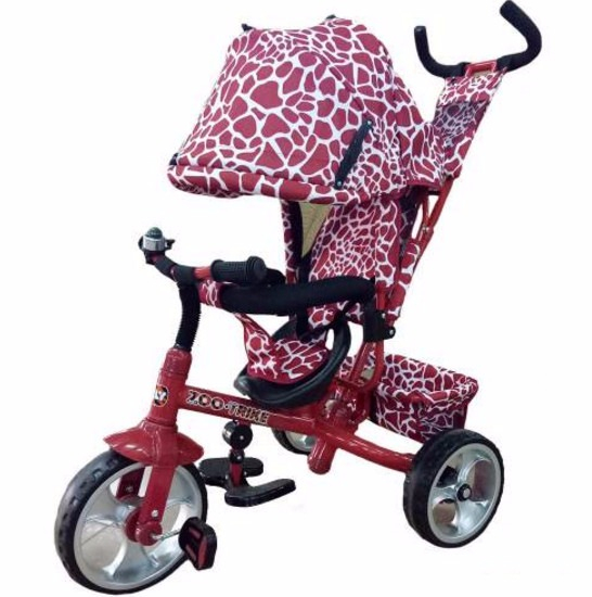 Tilly Zoo-Trike T-342 Dark Red Tilly