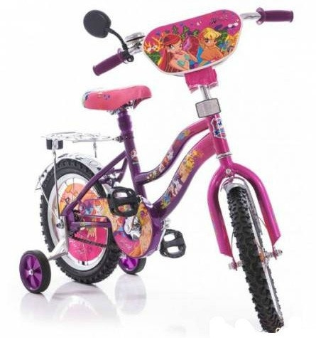 Велосипед Mustang Winx 18 Розово-сиреневый