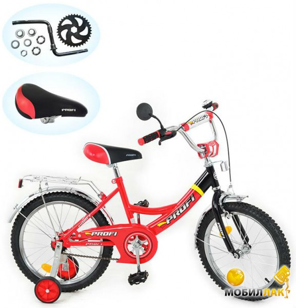 Profi Trike P 1646A 16 Красный Profi