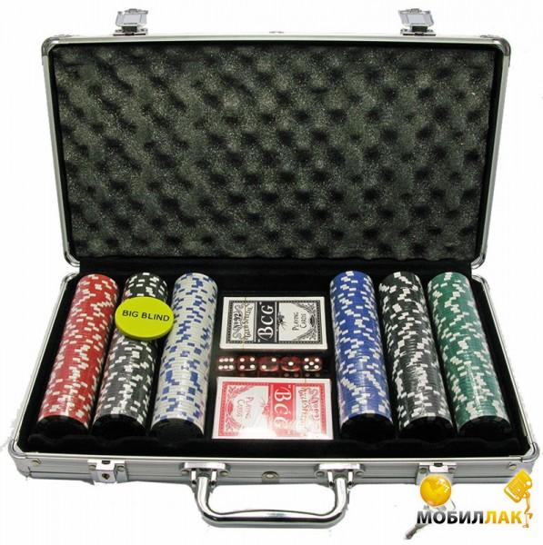 Даршан набор в алюминиевом кейсе 300 фишек 39х21х7 см (27235) Даршан