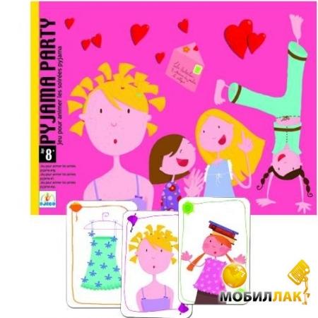 Djeco Игра Пижамная вечеринка MobilLuck.com.ua 188.000
