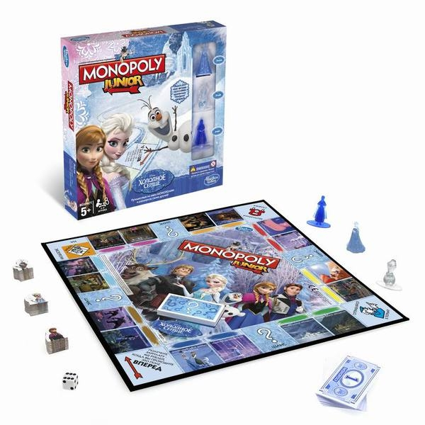 Настольная игра Hasbro Монополия Junior (Холодное сердце) (B2247121)