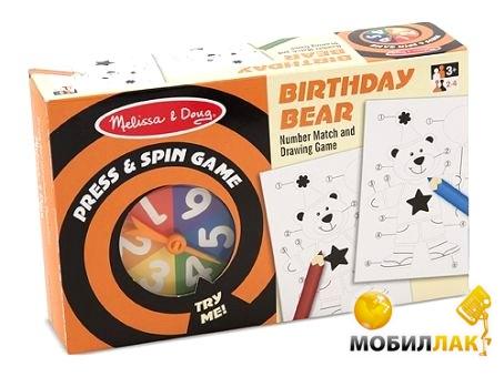 Melissa&Doug Настольная игра День рождения медведя (MD4511) MobilLuck.com.ua 95.000