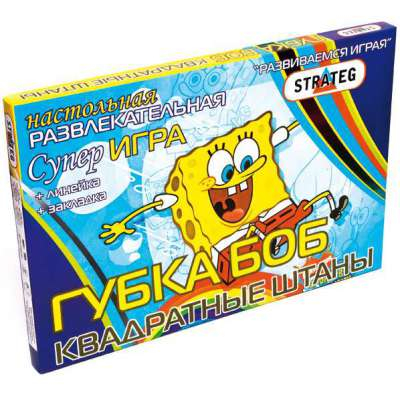 Strateg Бродилки Губка Боб - квадратные штаны (201) Strateg