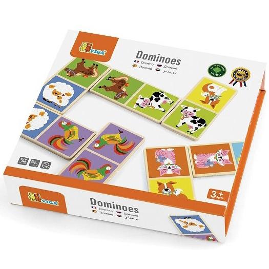 Viga Toys Домино Ферма (51306) Viga Toys