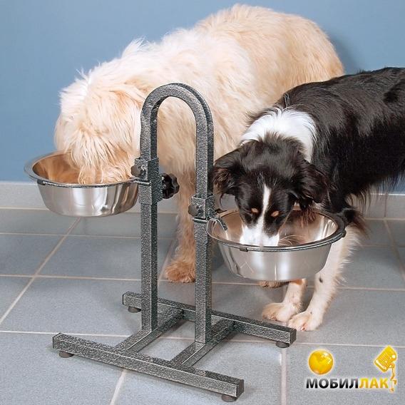 Как сделать подставку для миски собаки