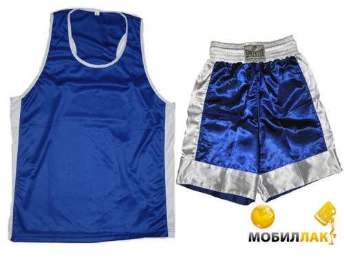 Sprinter Трусы + майка боксерские синие размер L 28031 MobilLuck.com.ua 115.000