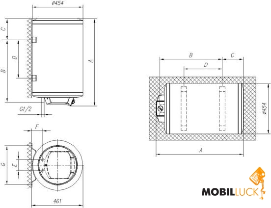 Gorenje GBFU 100 E V9 MobilLuck.com.ua 2992.000