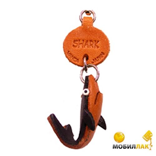 Vanca акула, 3D на ключи, натуральная кожа , 2,5х2,5х1см. см. (56313) Vanca