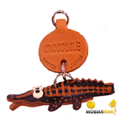 Vanca крокодил, 3D на мобильный, натуральная кожа , 2,5х2,5х1см. см. (46303) Vanca