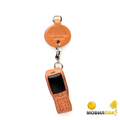 Vanca мобильный телефон, 3D на мобильный, натуральная кожа , 2,5х2,5х1см. см. (56566) Vanca