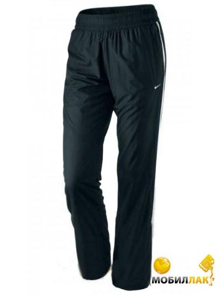 2a6da45d Видеообзор и фото Спортивные штаны женские Nike Border Woven black/white  (M). Купить Спортивные штаны женские Nike Border Woven black/white (M).