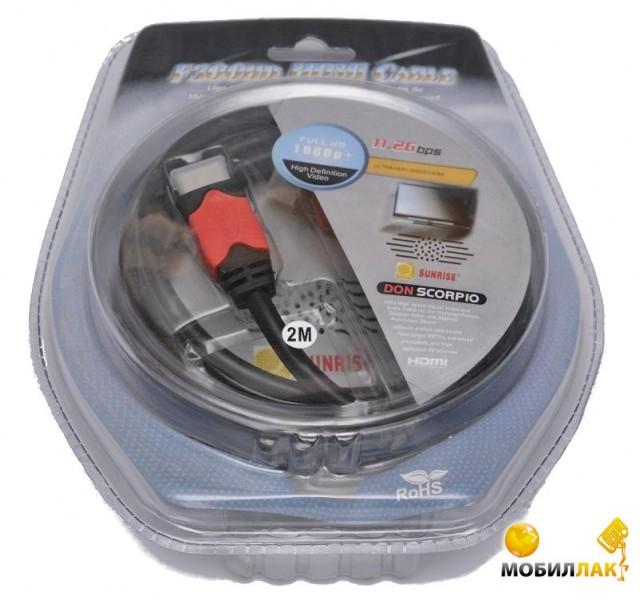 ATcom HDMI-HDMI, 2м (14943) MobilLuck.com.ua 64.000